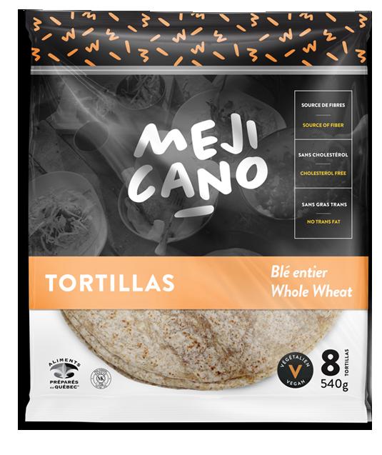 Tortillas Blé entier